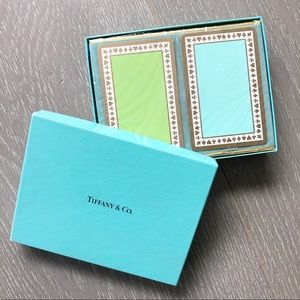 TIFFANY & CO. Playing Cards, New In Box, Sealed